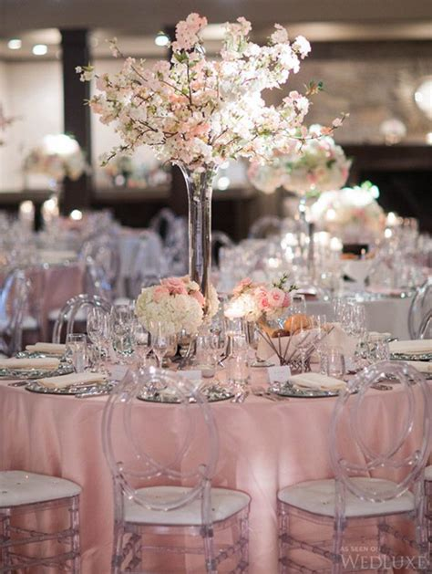 Wedding Reception Decorations by 2016 Blush Pink Weddings Archives Weddings Romantique