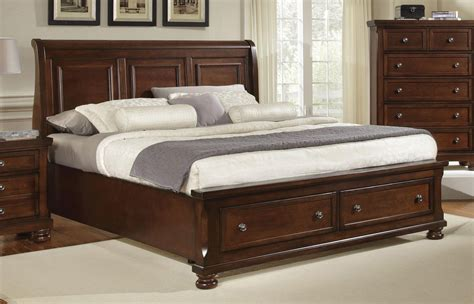 vaughan bassett reflections sleigh bedroom group queen