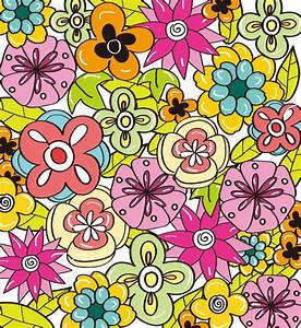 Flower Background for Design Vector Graphic   Free Vector ...