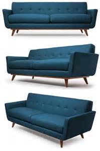 dã nisches design sofa my style republic mid century modern sofa nixon sofa
