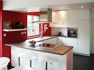 meuble cuisine americaine bar cuisine idees de With decoration de cuisine americaine