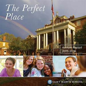Saint Mary's School Annual Report | 2015-2016 by Saint ...