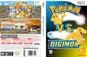Pokemon Vs Digimon CbTw Wii U Boxart