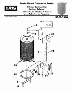 1 Micron Canister Filter Kdcf-3500 Manuals