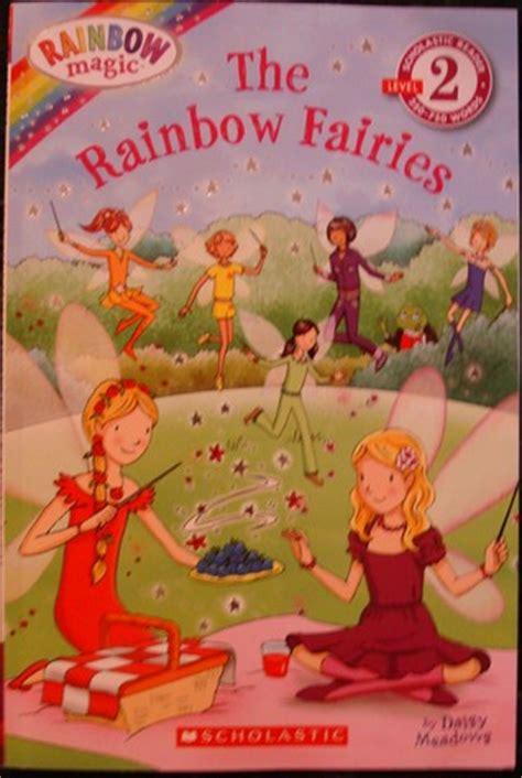 rainbow fairies scholastic reader level  rainbow
