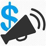 Budget Ads Icon Advertisement Marketing Message Radio
