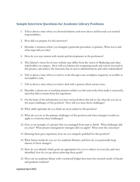 Questions About Initiative by Questions Reference Liaison Academic