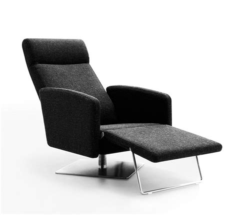 reclining lounge chair abbot modern fabric reclining lounge chair