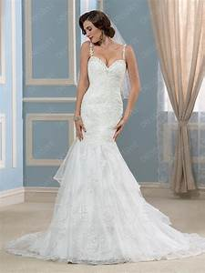 sexy sweetheart lace appliques backless mermaid court With hottest wedding dresses