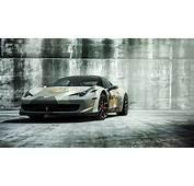 Vorsteiner Ferrari 458 Italia 2016 Wallpapers  HD