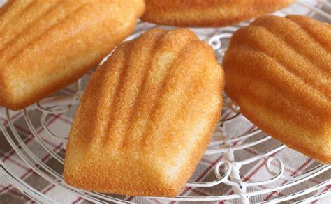 recette dessert 2 oeufs madeleines sans oeuf wecook