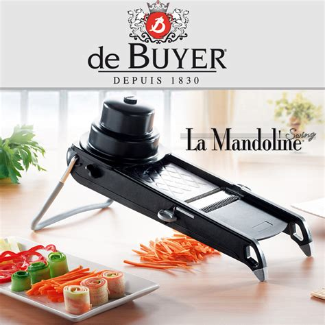 mandoline cuisine de buyer de buyer la mandoline swing plus black de buyer shop