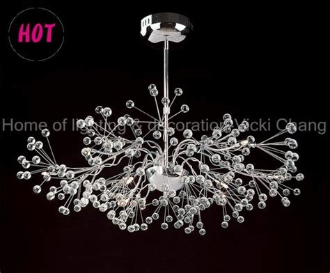 New Design Glass Chandelier, Transparent Glass Ball, Good