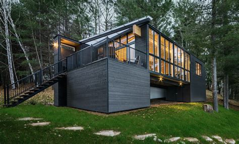 prefab cabins for beautiful prefab cabin in made out of wood panels