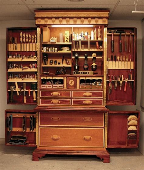 Wooden Tool Storage Cabinet Plans by Tool Storage Ideas The Owner Builder Network