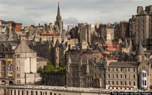 Old Town Edinburgh Scotland