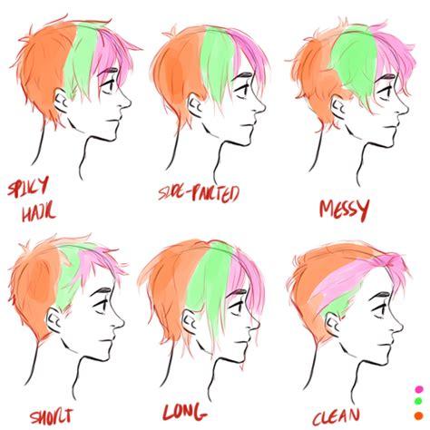 hair tutorial   drawing  coloring