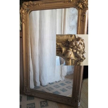 miroir ancien bois dore miroir ancien bois et platre dor 233 115cm broc23