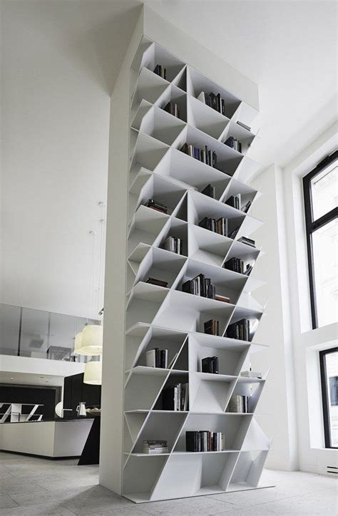 geometric bookcases  wall units home decorating