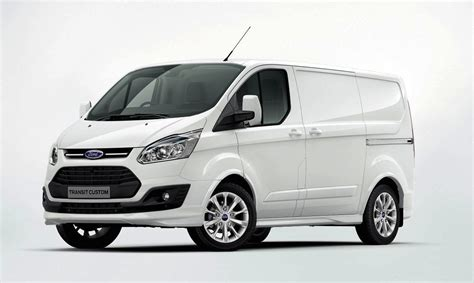 Ford transit custom 2018 facelift review details. Ford Transit Custom previews new commercial van range ...