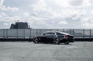 Rolls Royce Wraith - Adv10 M V1 Matte Black Wheels
