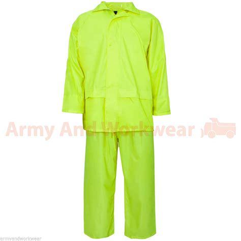 overall mens hooded rainsuit waterproof work wear