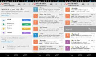 gmail apps for android on with the new gmail updates for android and ios