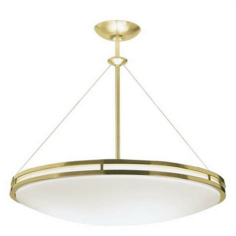 polished brass commercial semi flushchandelierpendant ebay