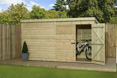Shiplap Or Tongue And Groove Shed - garden shed 9x3 shiplap pent shed tongue and groove