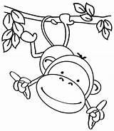 Coloring Pages Easy Animal Simple Printable Toddlers Jungle Getdrawings Getcolorings Colorings sketch template