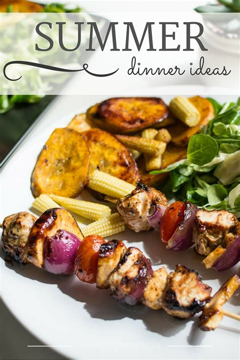 summer dinner summer dinner ideas perfect summer meal ideas