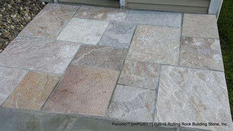 flagstone pattern peconic pattern flagstone rolling rock building stone inc