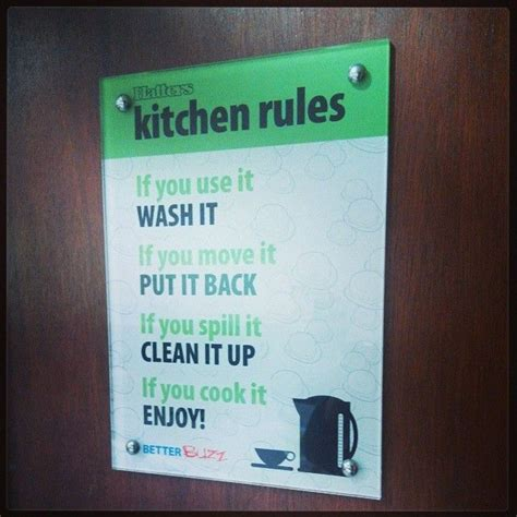 Office Kitchen Etiquette Signs by Do Your Dishes Sign 520 In 2019 Kitchen Sign Diy