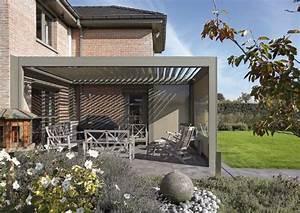 Carport Terrasse Kombination : lamellen flachdach system terrassen berdachung ~ Somuchworld.com Haus und Dekorationen