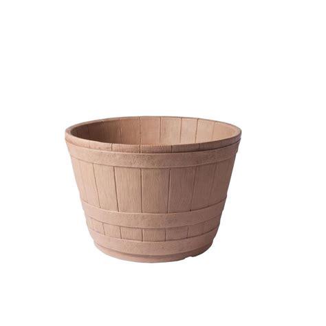 plastic barrel planter new age pet ecoconcepts rectangular plastic planter