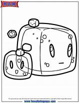 Minecraft Coloring Pages Cube Gelatinous Slime Drawing Cubes Slimes Cute Cartoon Cool Sheets Enderman Block Lima Doodles Doodle Hmcoloringpages Funny sketch template