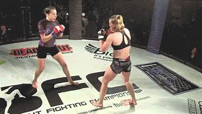 Ko Mma Fist Vs Spinning Holly Knocked