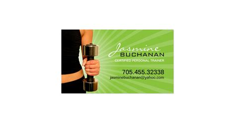 Make, create your own editable professional custom, personalized, editable business cards. Personal Trainer Business Card Template   Zazzle