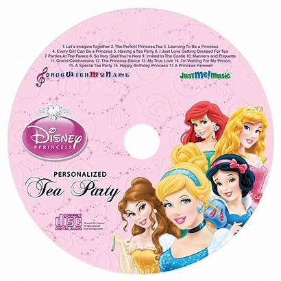 Disney Princess Cd Party Tea Personalized Songs