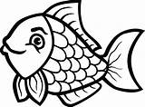 Fish Clipart Clip Transparent Fishing Drawing Trout Outline Line Cute Cartoon Fisherman Simple Background Seafood Animal Quality Clipartmag Drawings Pngio sketch template