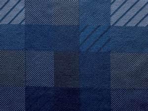 Dark Blue Patterns Plaid Fabric Texture - PhotoHDX