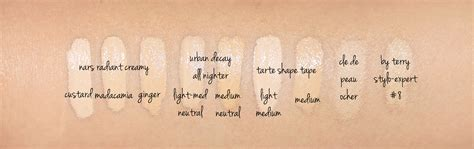 tarte shape tape foundation  concealer review