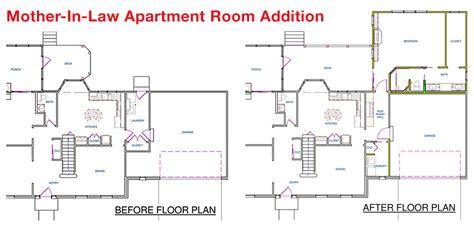 Mother Law Apartment Floorplan-house Plans