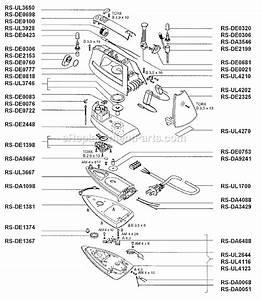 Rowenta De841 Parts List And Diagram   Ereplacementparts Com
