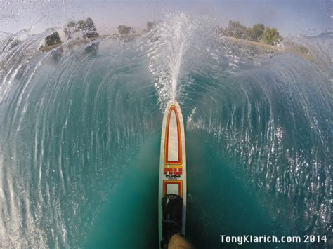Boat Sinking Gopro by A Water Skier S Free Stock Photos Gopro Water
