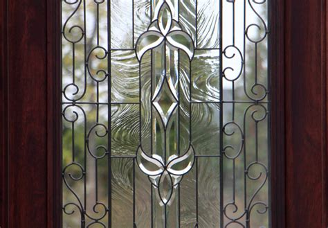 Front Doors With Wrought Iron And Glass