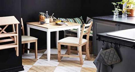 table de cuisine leroy merlin petites tables de cuisine en 14 modèles déco gain de place