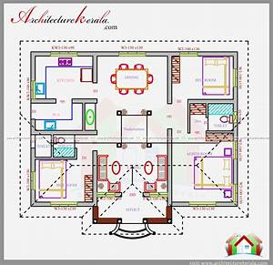 1200 SQ FT HOUSE PLAN IN NALUKETTU DESIGN ARCHITECTURE