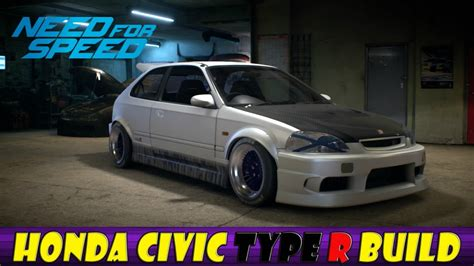Need For Speed Honda Civic Build Legends Update Youtube