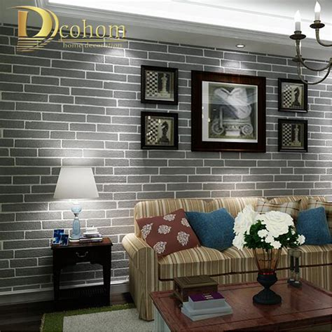 4 murs papier peint chambre achetez en gros noir gris blanc papier peint en ligne à